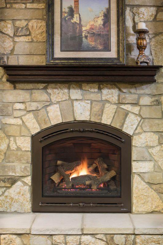 Kozy Heat Slayton 42 Reviews Heat N Glo Chateau Forge Front