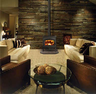 Complete Home Concepts offers a broad selection of fireplace options from gas and wood burning fireplaces