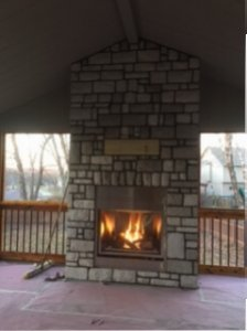 choosing the right outdoor fireplace for your space