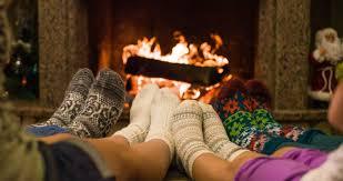 family fireplace safety