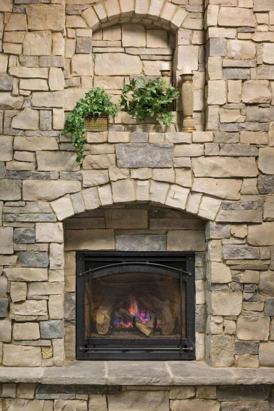 Manufactured Stone Veneer Kansas City Thin Cut Natural