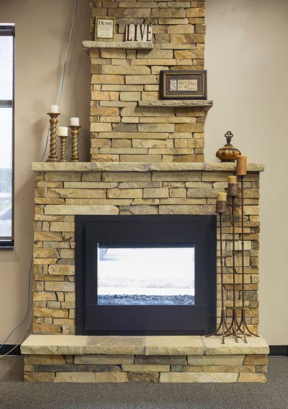 Heatnglo Twilight Modern Zero Clearance Fireplace