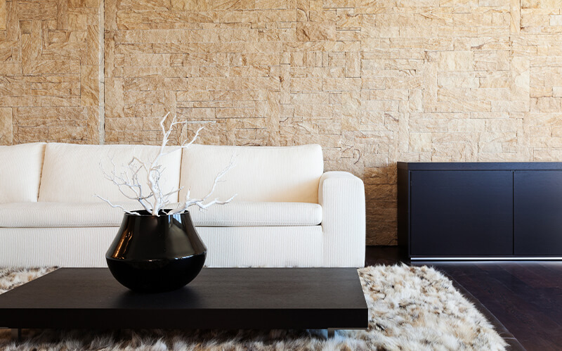 Indoor Stone Veneer