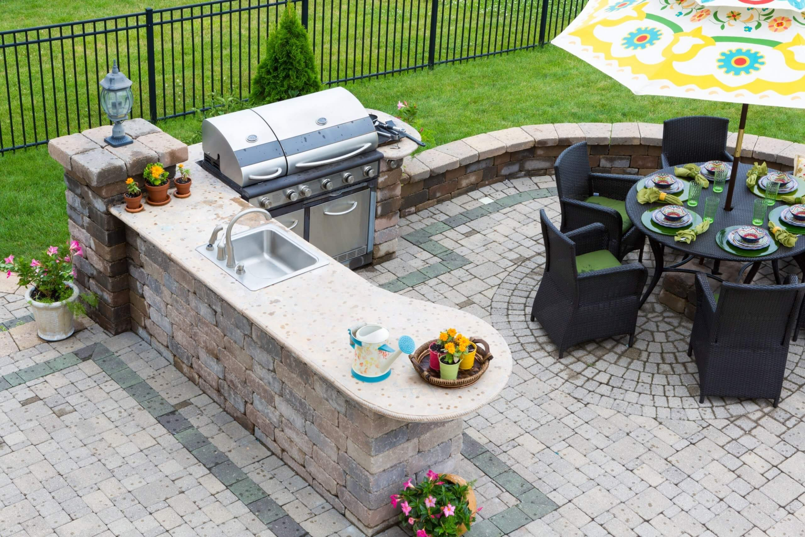 Inclusive Outdoor Kitchen